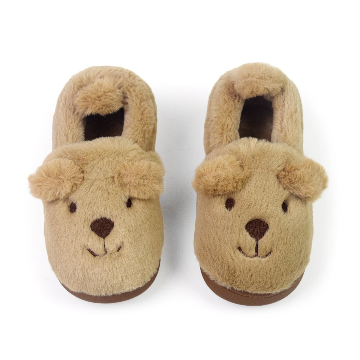 Toddler Girls Boys Slipper Shoes For Kids Cute Cartoon Warm Winter Non-Slip Bedroom Indoor House Slipper Comfort Home Shoes