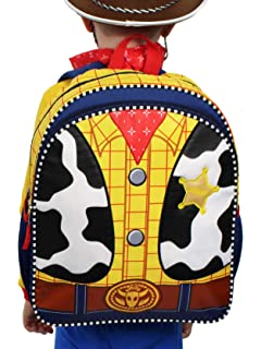 Toy Story Woody Kids 14 inch School Backpack Set (One Size, Yellow/Multi