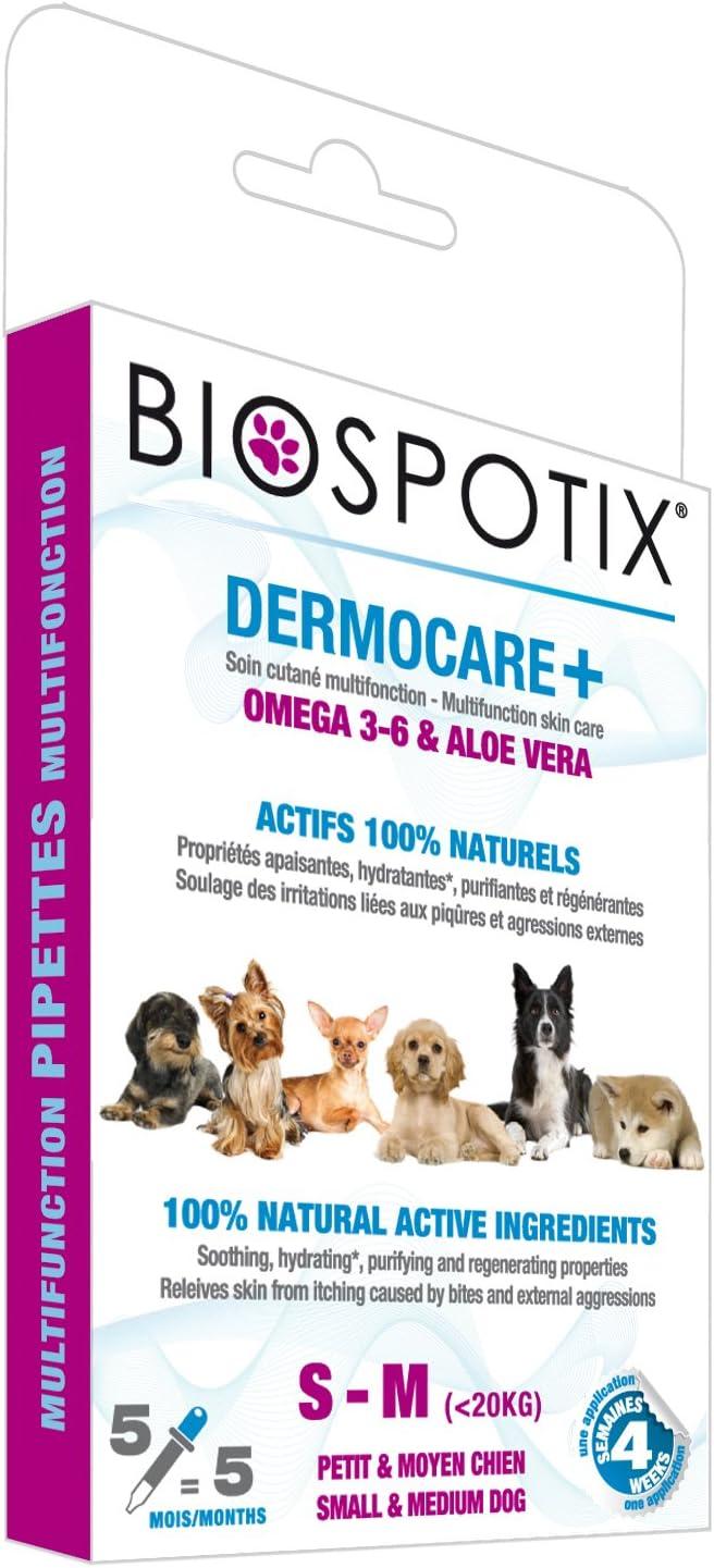 Arppe 2985010500 Pipetas Dermocare para Perros Tallas S y M, 5 Unidades