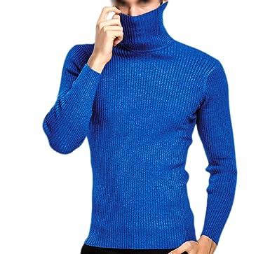 66e815d249 PDFGO Jerseys para Hombres Cuello De Tortuga Jerseys Prendas De Punto  Camisas con Base Otoño Invierno Jerseys para Hombres Espesar Abrigo