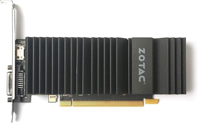 Zotac ZT-P10300B-20L - Tarjeta gráfica (GeForce GT 1030, 2 GB ...