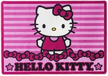 Perfect Sanrio Hello Kitty Large Accent Floor Area Rug 39u0026quot; ...