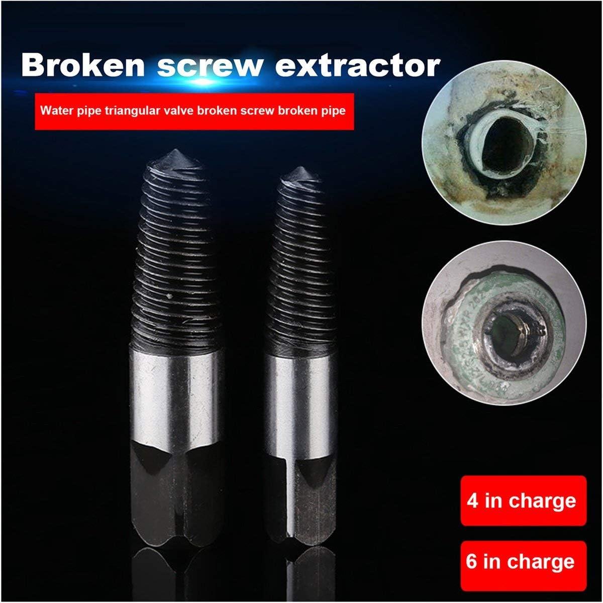 Extracteur de boulon en acier endommag/é de tournevis enlev/é Remover Easy Out Vis Pull Pull Foret Enl/èvement Outils-Alan Graham ScottVF
