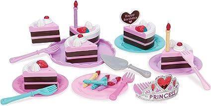 Groovy Amazon Com Play Circle By Battat Princess Birthday Party Set Personalised Birthday Cards Veneteletsinfo