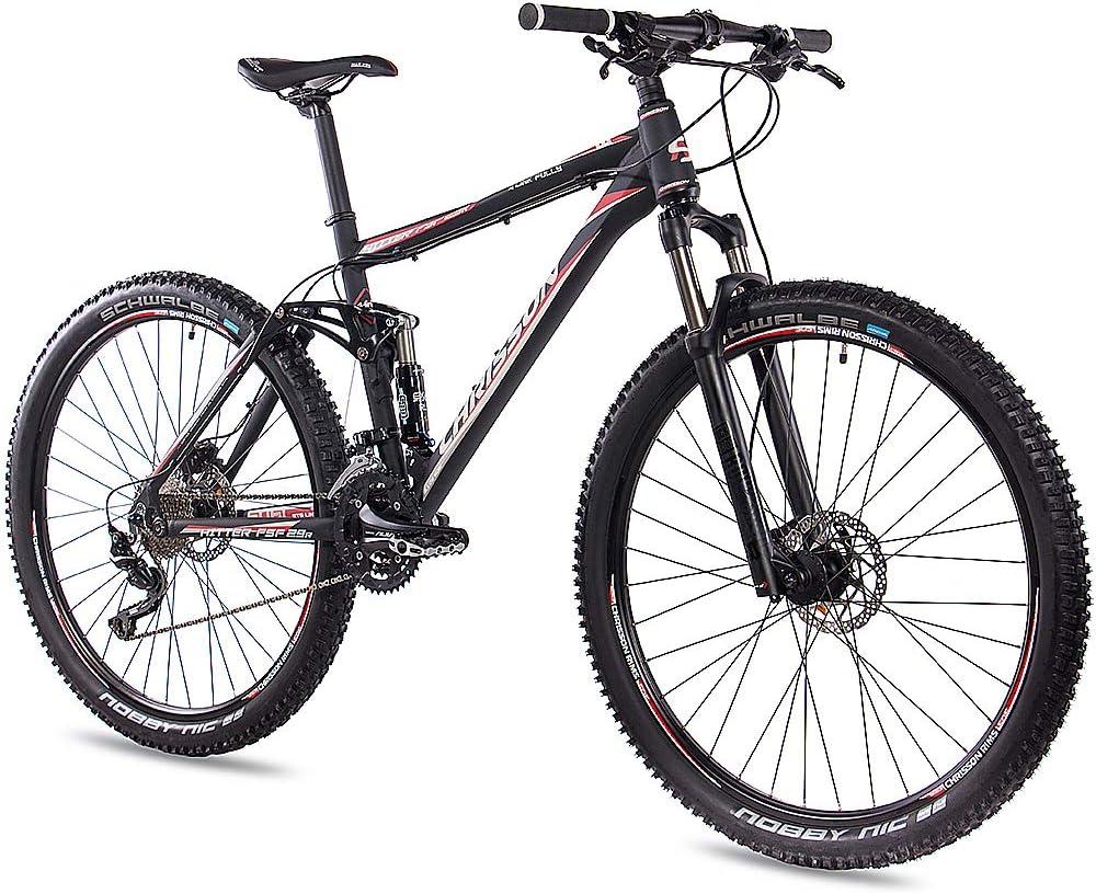 CHRISSON Fully Hitter FSF - Bicicleta de montaña de 29 pulgadas ...