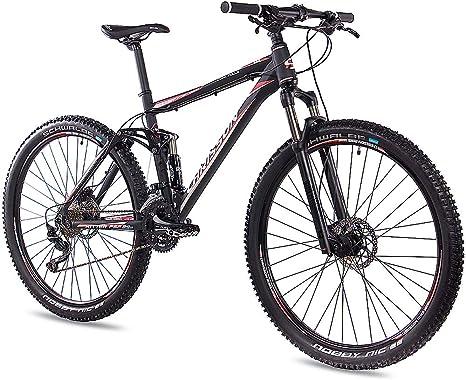 CHRISSON Fully Hitter FSF - Bicicleta de montaña de 29 pulgadas con suspensión completa y cambio de