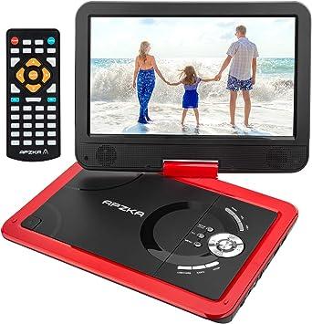 Amazon.com: Apzka Reproductor de DVD portátil de 5 horas de ...