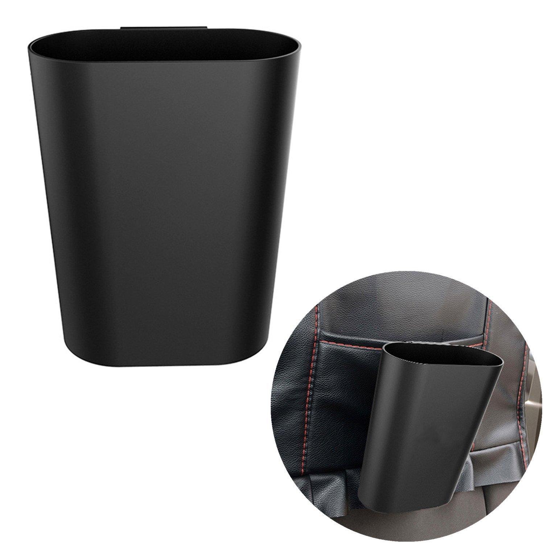 Chytaii Voiture Sac de Rangement Support Organisateur Poubelle Trash (Noir)Plastique