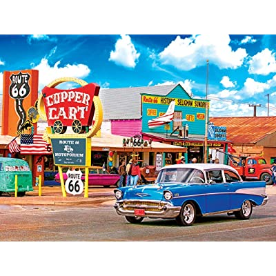 Kodak 550 Piece- Seligmans Route 66 Arizona: Toys & Games