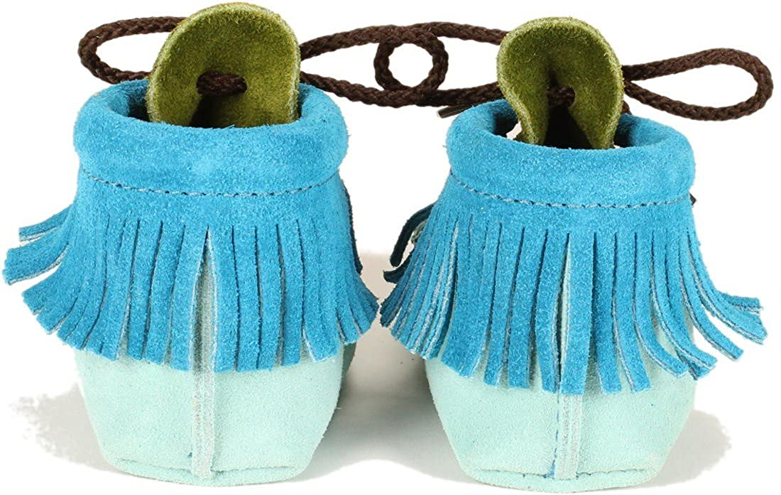 Itasca Moccasin Wapsi Groovy w//Fringe Baby Moccasin