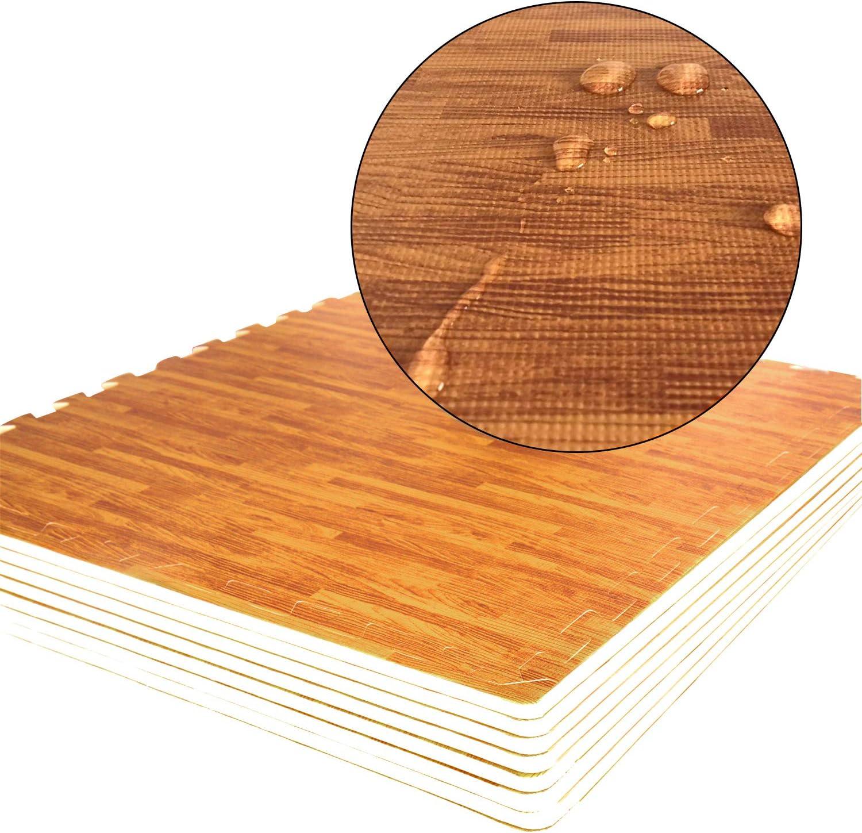 Matelas Puzzle Fitness 60 x 60cmx 1.2cm au Gymnase /à lexercice au Yoga Tapis Mousse de Sol CCLIFE Tapis de Protection de Sol en Puzzle Mousse EVA