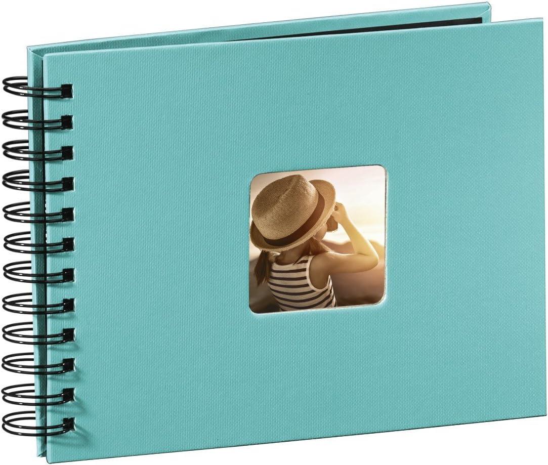 Hama Fine Art Álbum de Fotos con Espiral, Turquesa