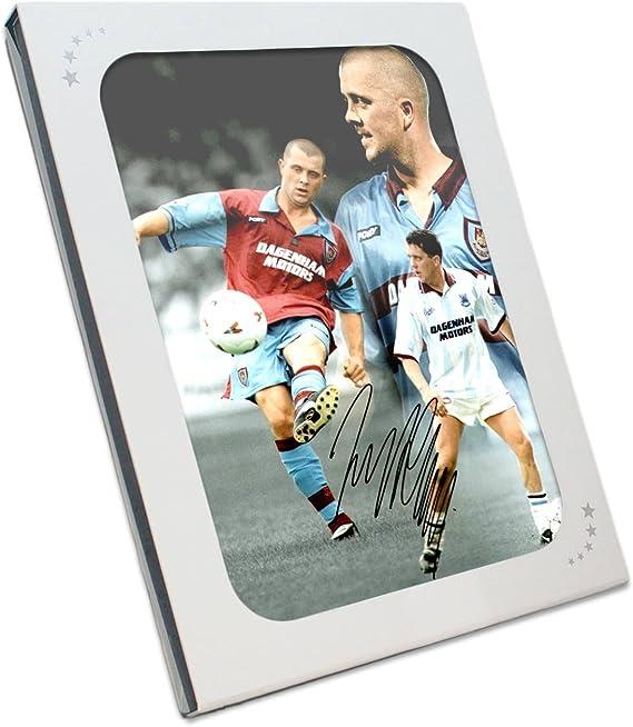 Julian Dicks Firmado West Ham United fotografía en la caja de ...