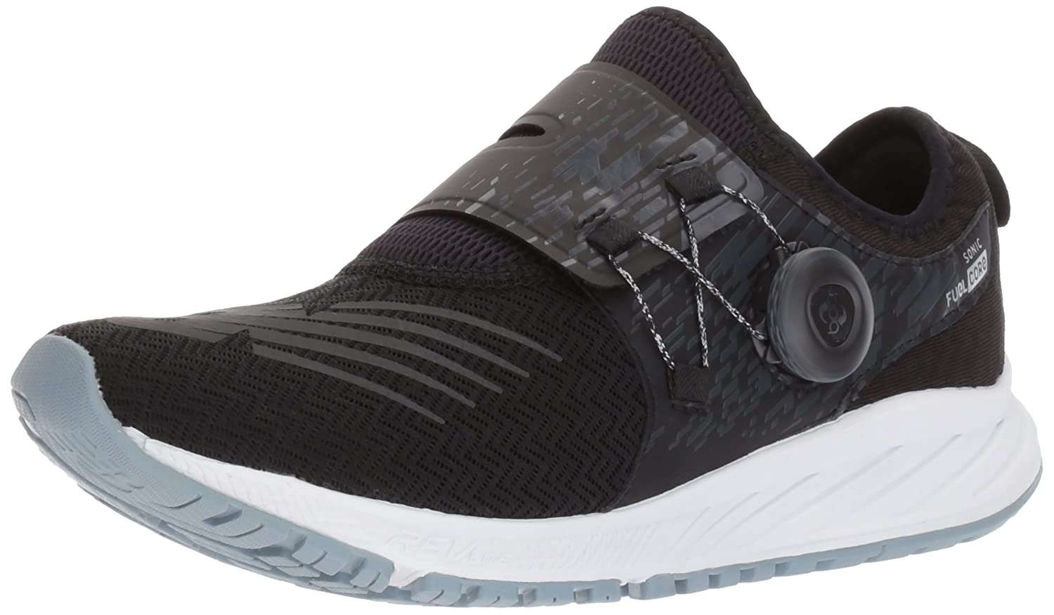 New Balance Women's Sonic V1 Running Shoe B01MRN3UUK 10 D US|Black/Silver