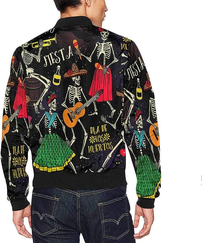 INTERESTPRINT Womens Halloween Horror Party Zip up Classic Jacket