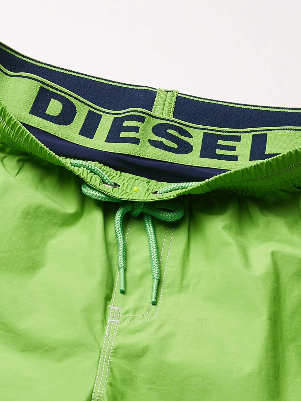 Diesel Mens Dolphin 4 Inch Solid Boxer Swim Short
