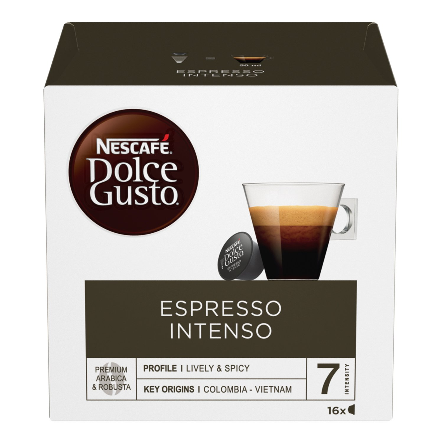 Nestle Dolce Gusto Coffee Espresso Intenso, 16 ct