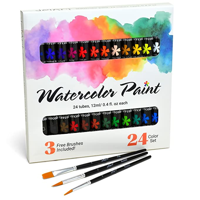 Watercolor Paint Set by JoiArt