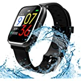 Amazon.com: Diggro DI03 Plus Smart Watch IP67 Waterproof ...