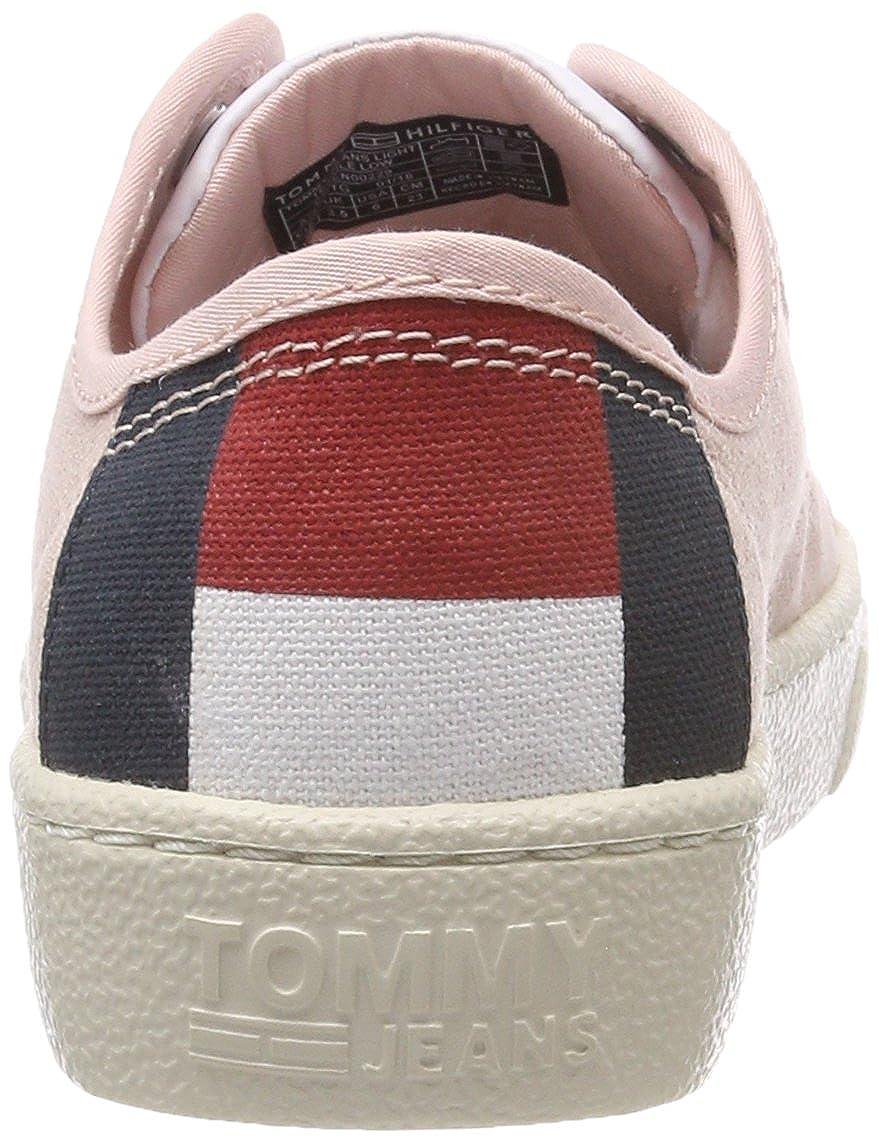 Tommy Jeans Light Textile Low, Zapatillas para para para Mujer ca9ed8