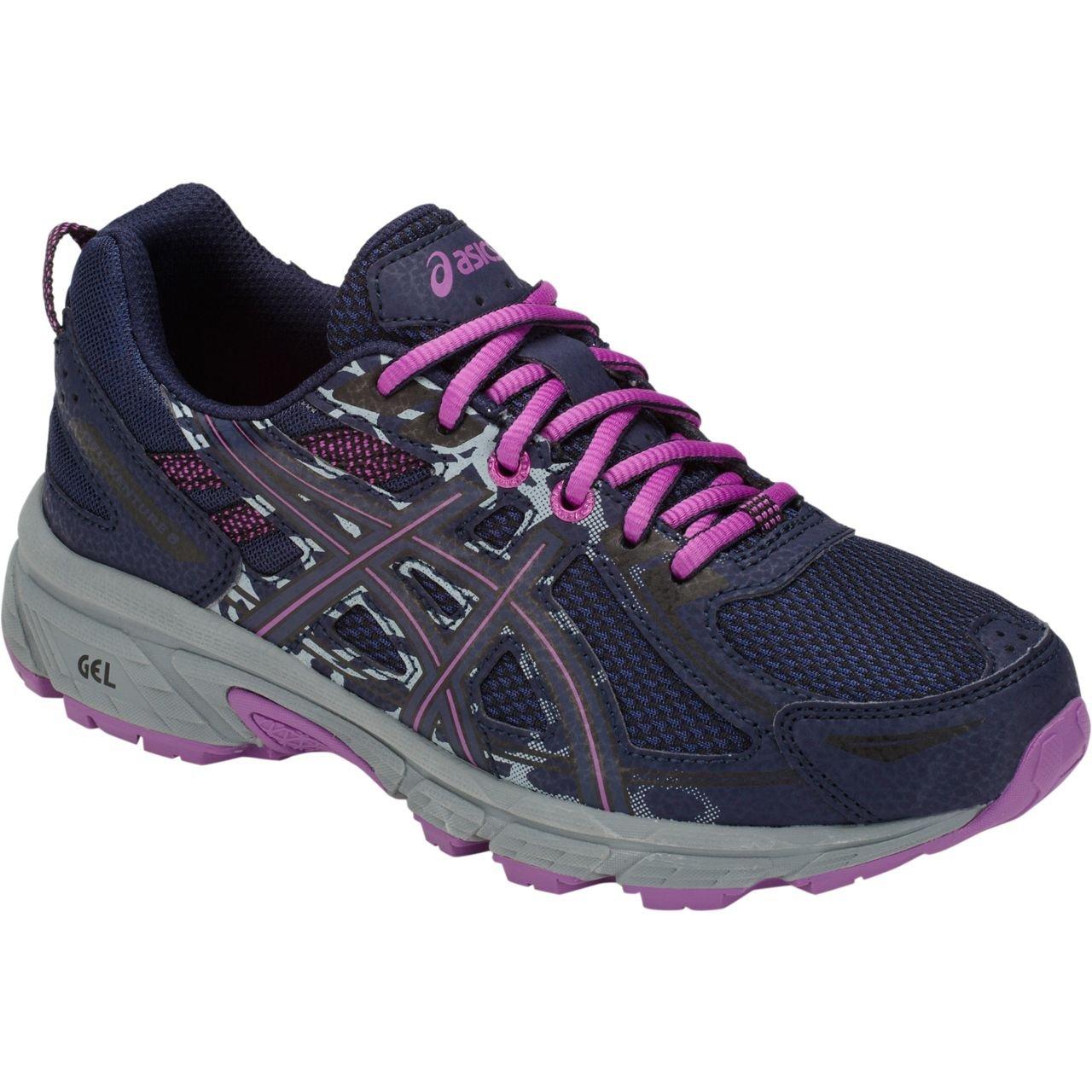 2c434b6fa3ca Galleon - ASICS C744N Kid s Gel-Venture 6 GS Running Shoe