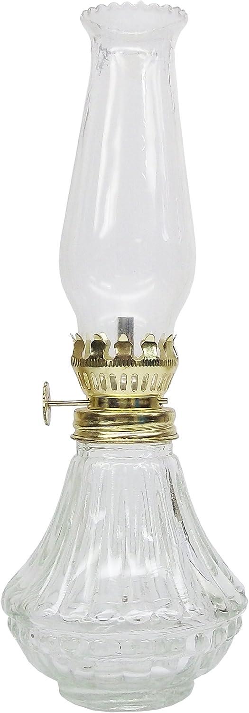 Glo-Brite par du 21e siècle L808cl Daylite Verre Clair Lampe à Huile