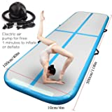 M&Z Inflatable Gymnastics Tumbling Air Track