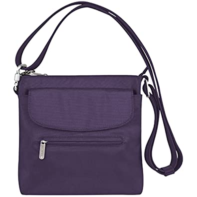 dfc18229a3 Image Unavailable. Image not available for. Color  Travelon Anti-Theft  Classic Mini Shoulder Bag ...