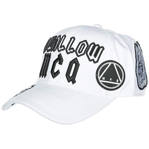 Originale E Amazon Swal Cappello Cotone Regolabile it In Borse Alexander Mcqueen Berretto Uomo Scarpe Mcq FqUf8wq
