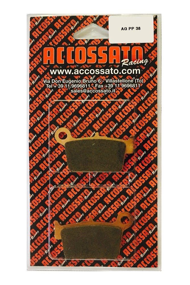 BETA  125 M4 125 Accossato Pastiglia freno AGPP38ST 2006