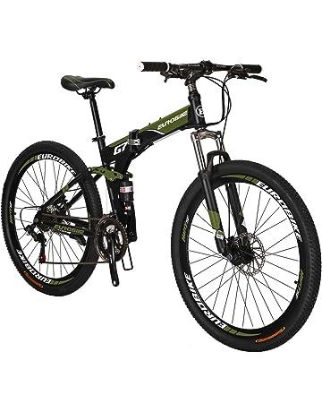 89a32a7ac72 Eurobike G7 Mountain Bike 21 Speed Steel Frame 27.5 Inches Spoke Wheels  Dual Suspension Folding Bike