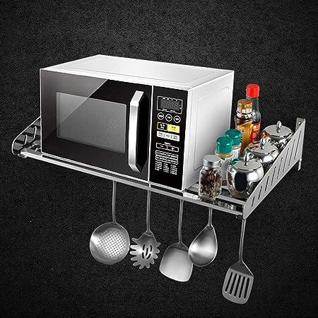 Maxiaoyun Estantes de Cocina 304 Acero Inoxidable Microondas Horno ...