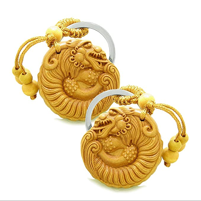 Amazon Amulet Courage Magical Dragon Good Luck Charms
