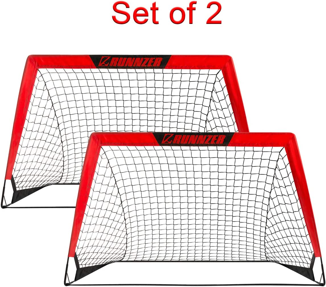 Portable Soccer Goal, Pop Up Soccer Goal Net for Backyard Training Goals for Soccer