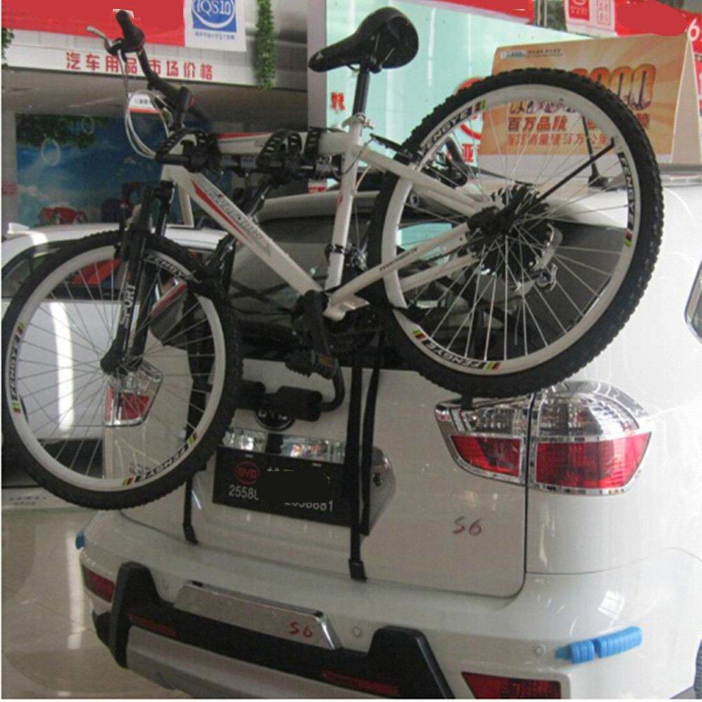 Xsj - Soporte de Bicicleta para el Coche, Soporte Trasero de Montaje Trasero, Soporte de Equipaje, suspensión para el Aire Libre, Coche Universal: ...