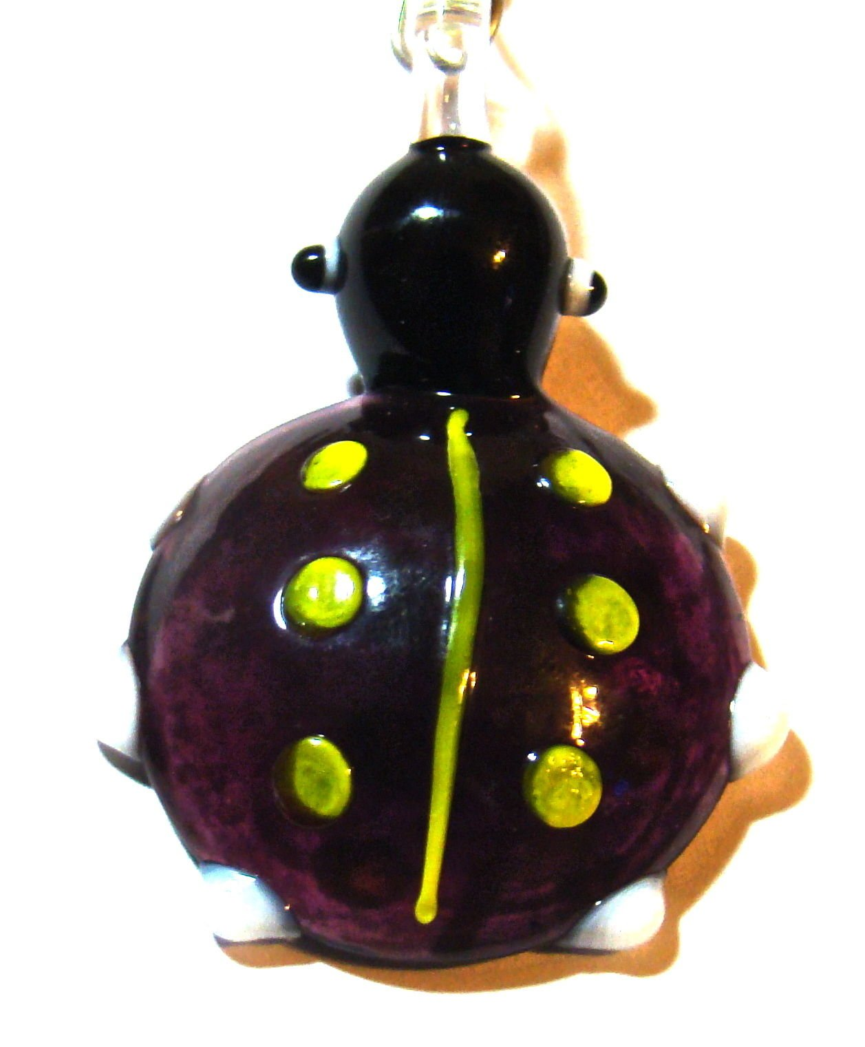 Gatton assorted ladybug ceiling fan light chain pull hand crafted by Gatton