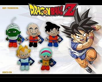 Peluche Son Goku Muñeco Serie TV Drangon Ball 20cm Bola de Dragon