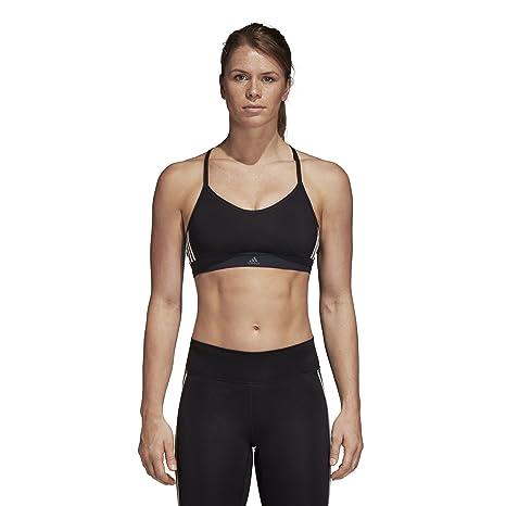 f3e0e3d48e Amazon.com  adidas Training All Me 3 Stripes Bra  Sports   Outdoors
