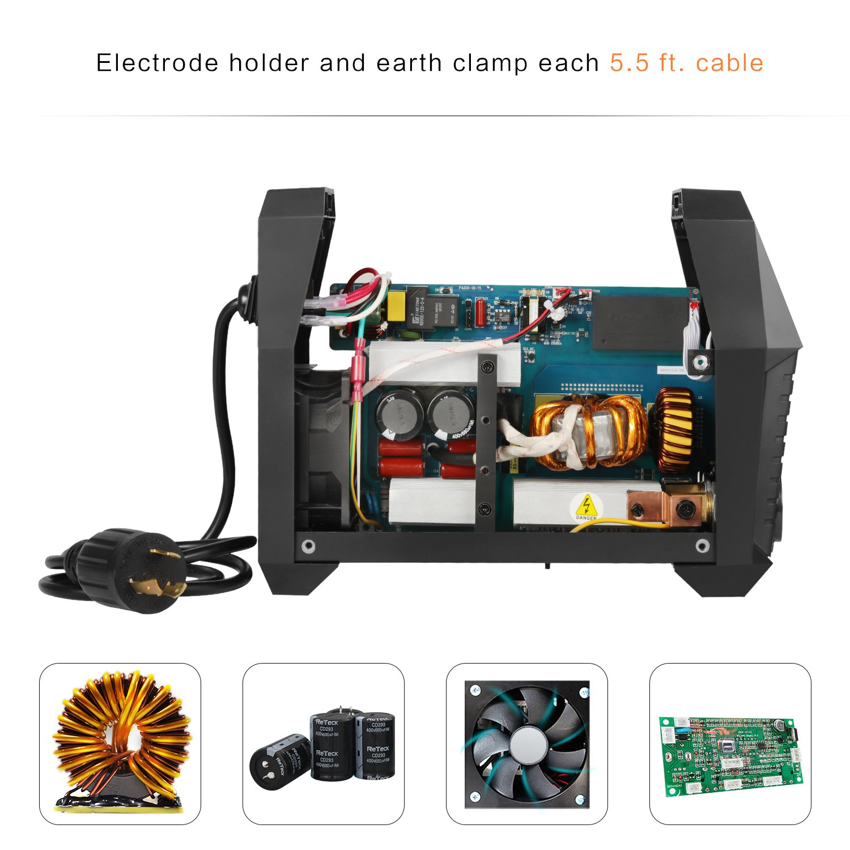 ARC Welder ARC160A Stick Welding Machine Digital Inverter Welder 220V DC Lift TIG Portable Welding Machine HITBOX