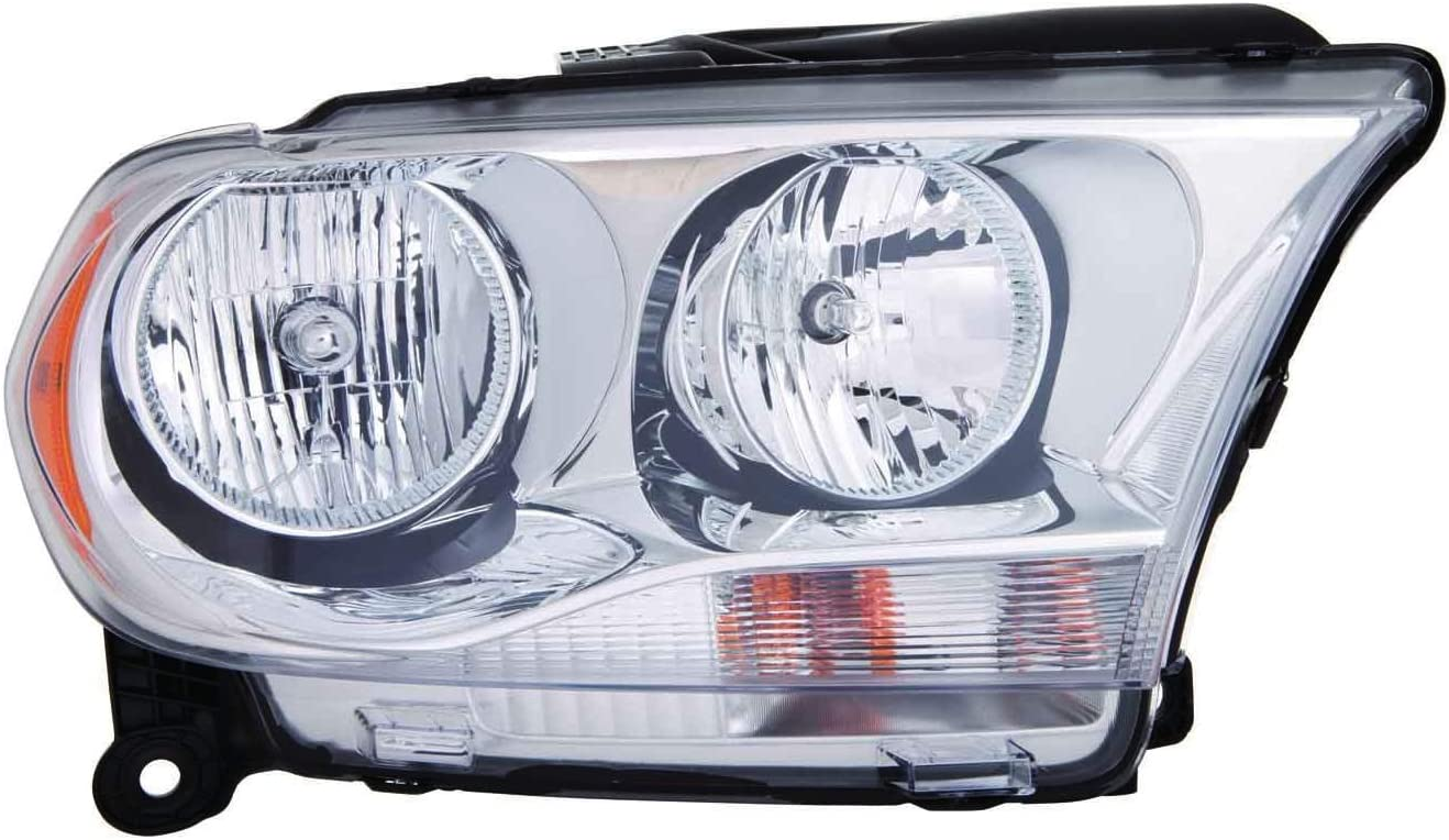 B00OYQ6MTO Depo 334-1132R-AC1 Head Lamp Assembly Halogen Chrome Trim (Capa Certified, Passenger Side) 71NuxkPzyFL.SL1378_