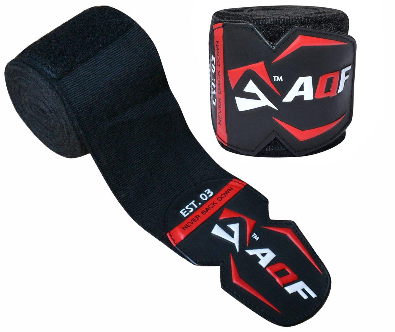 AQF Vendas Boxeo De 4.5m Guantes Interiores para MMA Boxeo Vendas El/ásticas para Entrenamiento Muay Thai