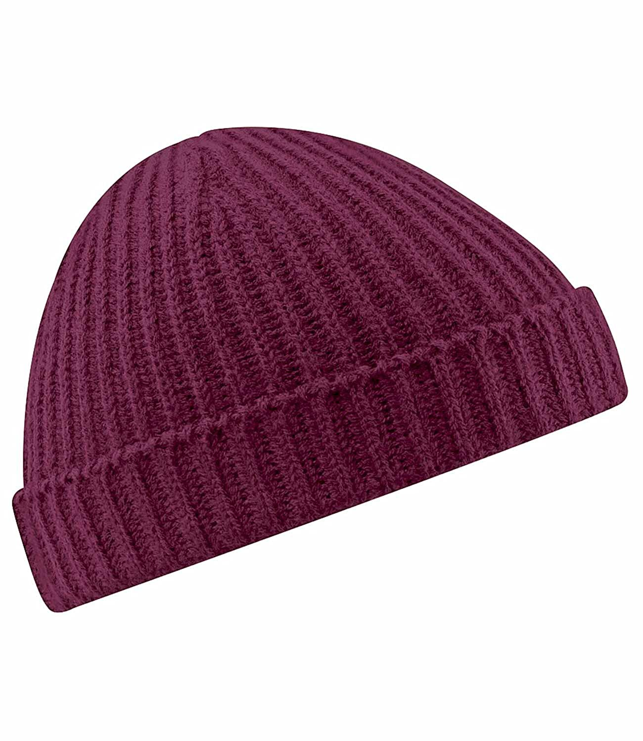 66988791eb1 Amazon.com  Beechfield Trawler beanie Black  Clothing