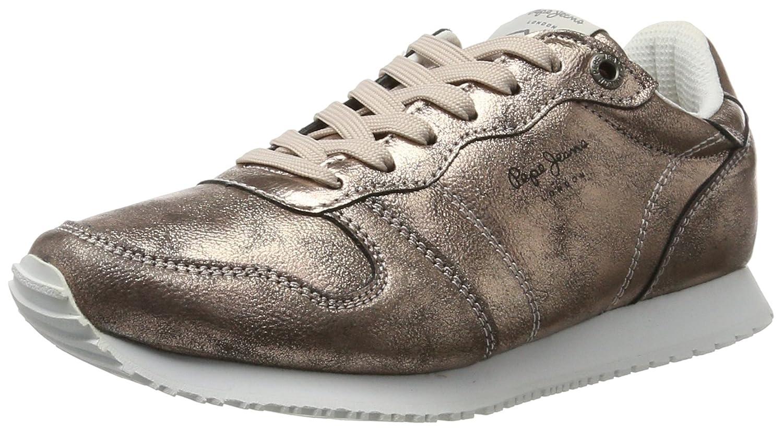 Pepe Jeans Gable Plain, Zapatillas para Mujer 37 EU|Rosa (Marble)