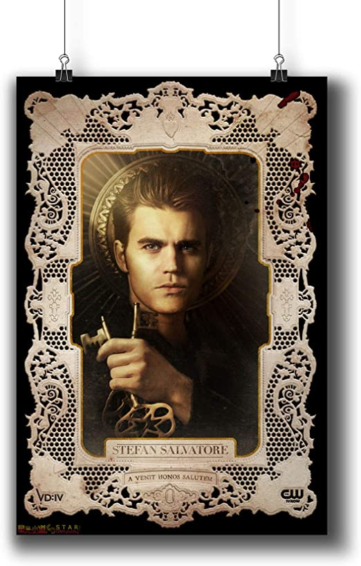 Ian Somerhalder Damon THE VAMPIRE DIARIES small art poster print
