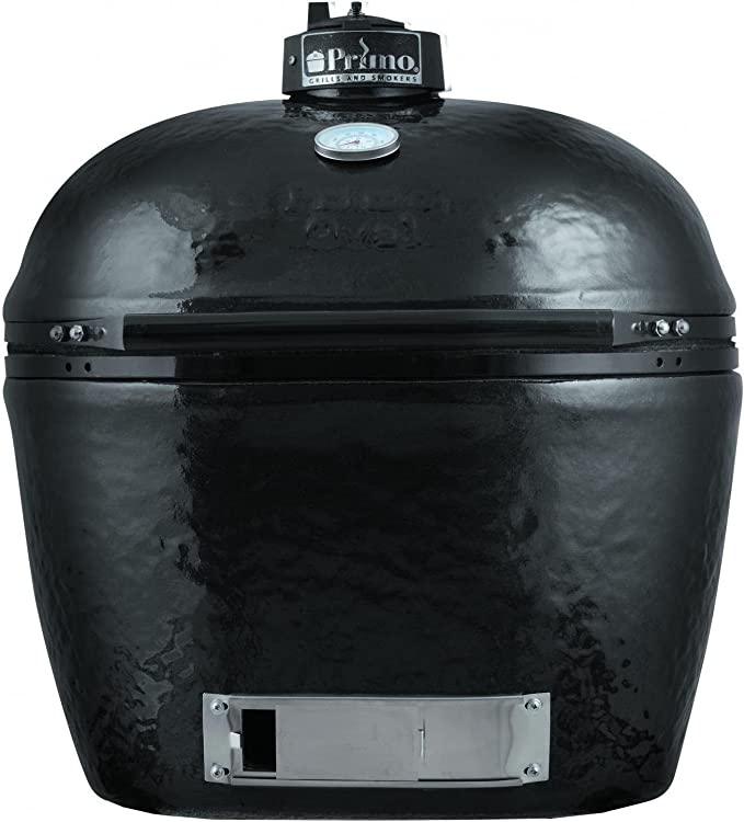 Primo 778 Extra-Large Oval Ceramic Charcoal Smoker Grill