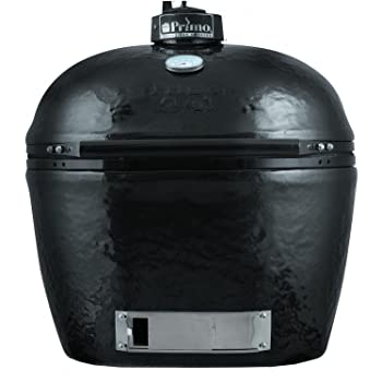 Primo 778 Extra-Large Oval Ceramic Charcoal Smoker Kamado Grill