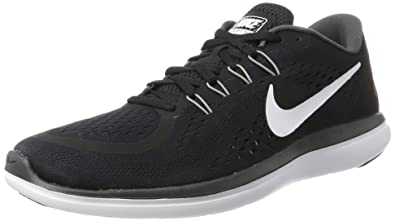 free shipping 39e37 85a6c Nike Women's Free RN Sense, Black/White/Anthracite/Cool Grey, 8