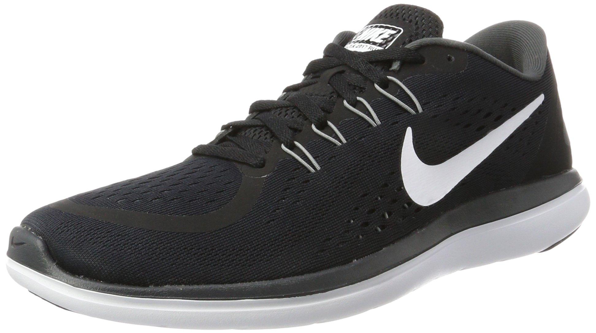 Nike Men's Flex 2017 RN Running Shoes Black/White/Anthracite/Cool Grey 10.5 D(M) US