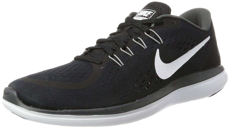 Nike Flex 2017 RN, Zapatillas de Running para Hombre 44.5 EU|Negro (Black/White/Anthracite/Cool Grey)
