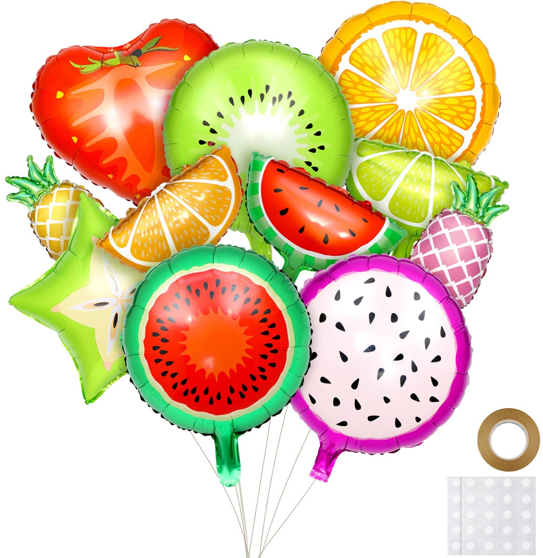 FRUIT FRUITS SUMMER PARTY BALLOON DECORATION SUPPLIES FAVOR